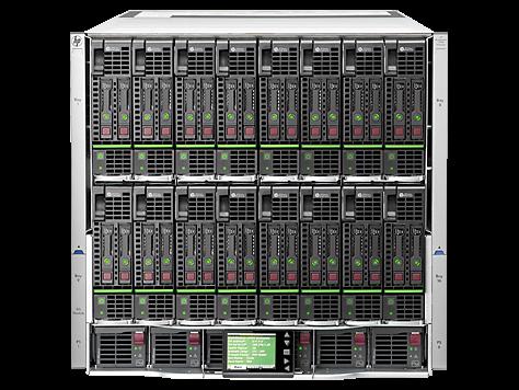 专为企业处理大量数据的服务器 HP